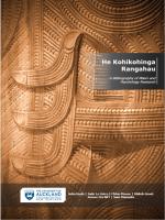 He Kohikohinga Rangahau